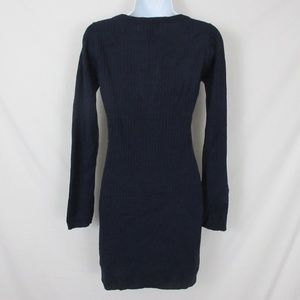ceefd245e8 Planet Gold Dresses - Planet Gold Sweater Dress Ribbed Lace Up